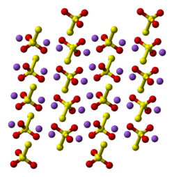 Crystal structure of sodium thiosulfate pentahydrate